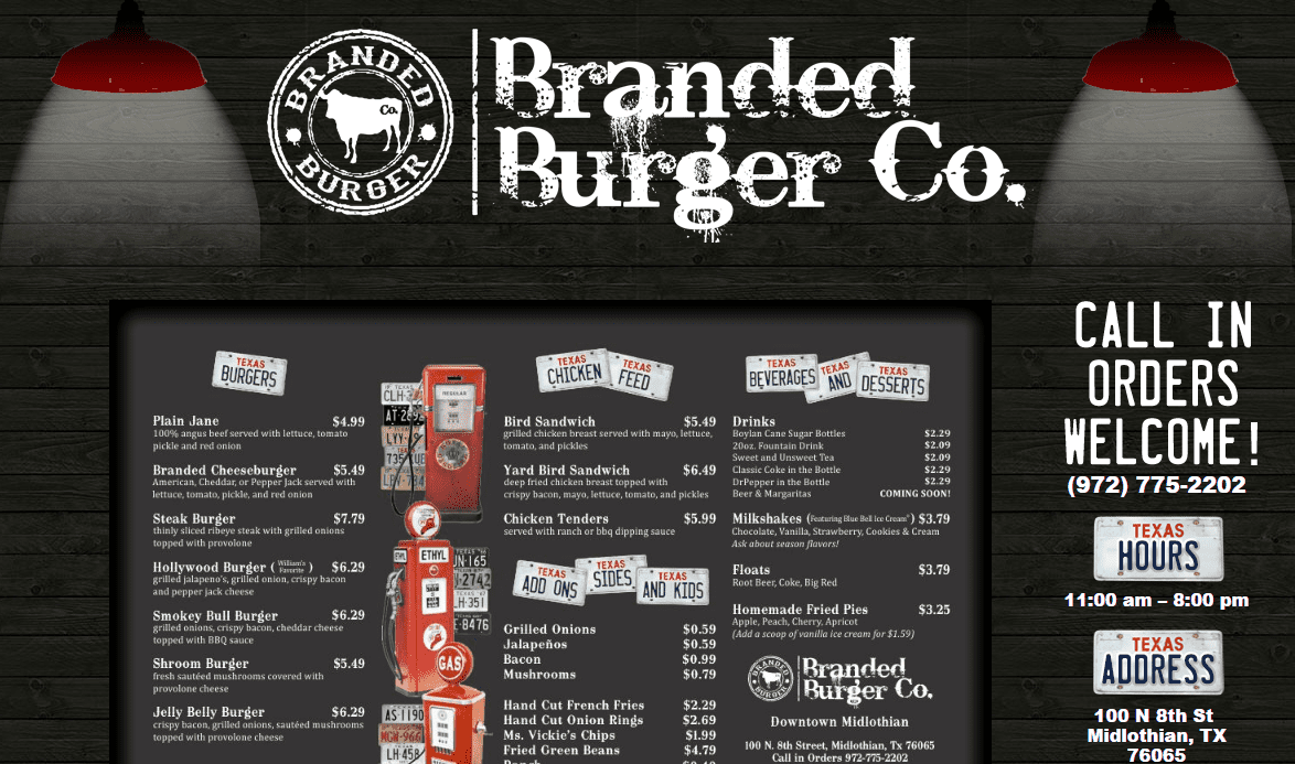 Newest Additions: Branded Burger Co.