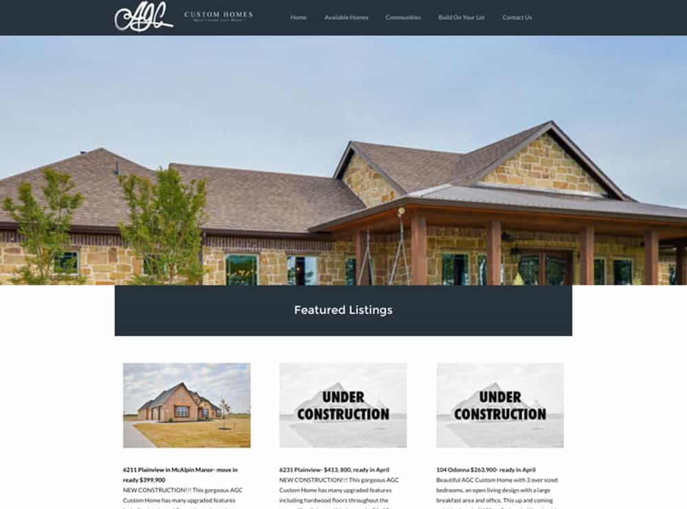 AGC Custom Homes
